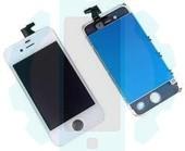 מסך לבן אייפון 4G