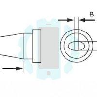 ראש מלחם Weller LT מברג 1.6mm