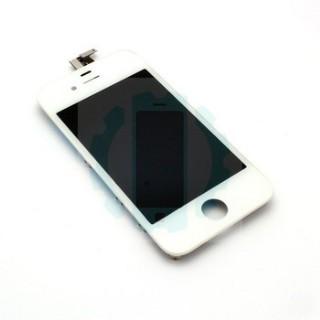 מסך לבן אייפון 4S