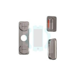 כפתור הדלקה+כפתור ווליום אפור אייפון 4S