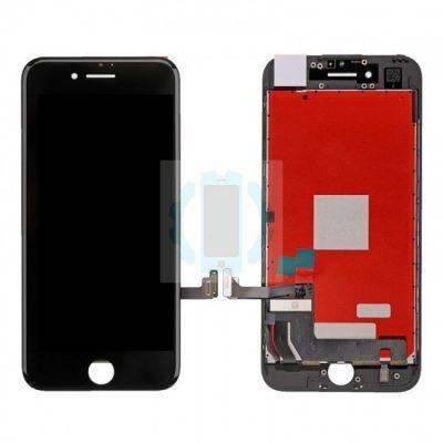 מכלול תצוגה שחור אייפון 8 פלוס