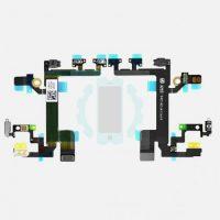 פלט כפתור הדלקה כפתורי ווליום אייפון 5S