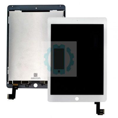 מסך טאץ לבן כולל LCD אייפד אייר 2