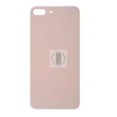 גב זכוכית אייפון 8 פלוס ורוד
