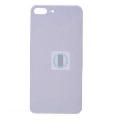גב זכוכית אייפון 8 פלוס לבן